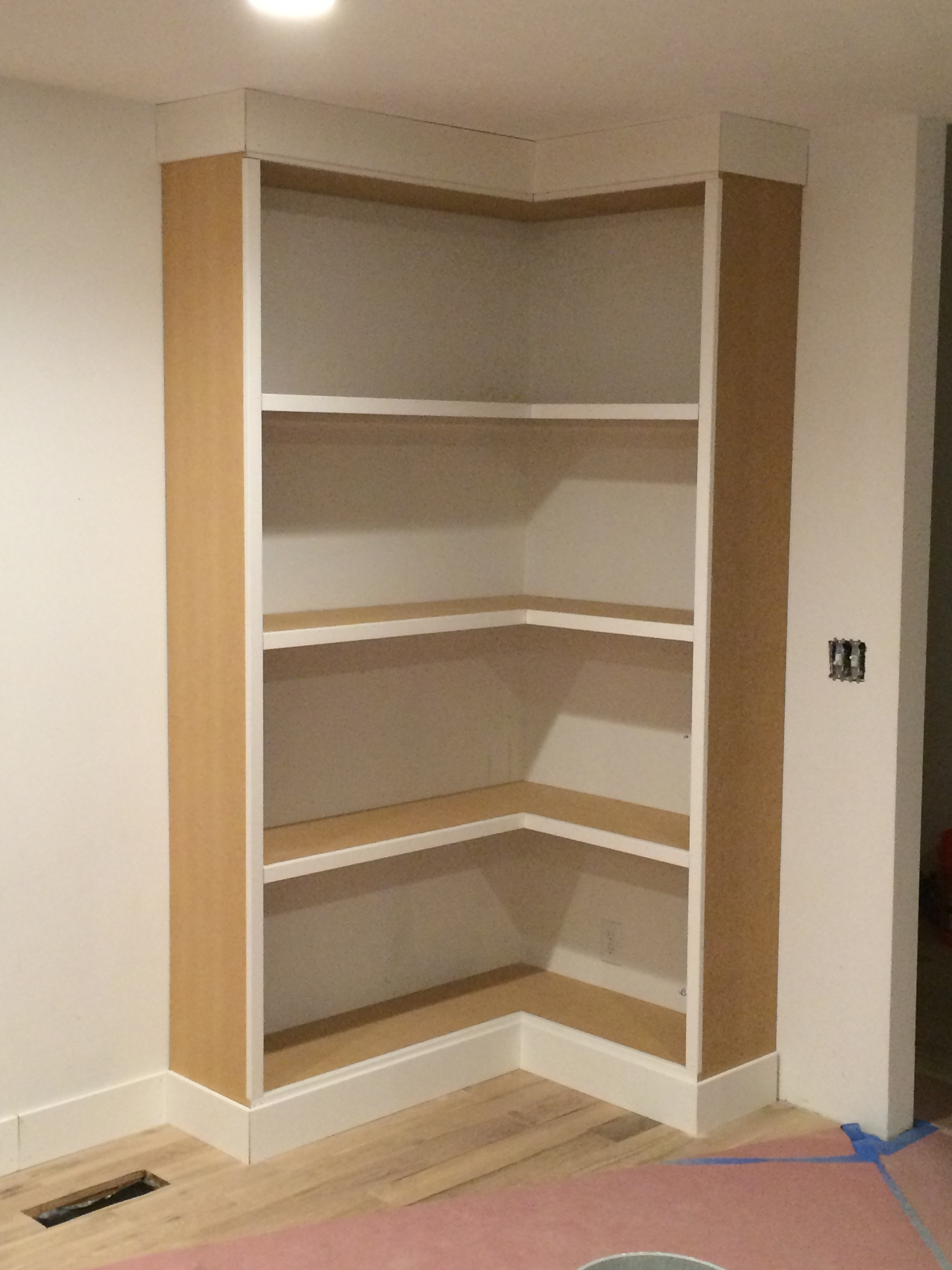 Diy Corner Bookcase Video Withheart With Regard To Corner Bookcase (#10 of 15)