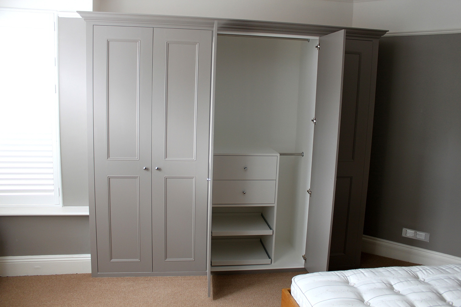 Diy Fitted Bedroom Furniture Raya Furniture Within Fitted Cabinets (View 14 of 15)