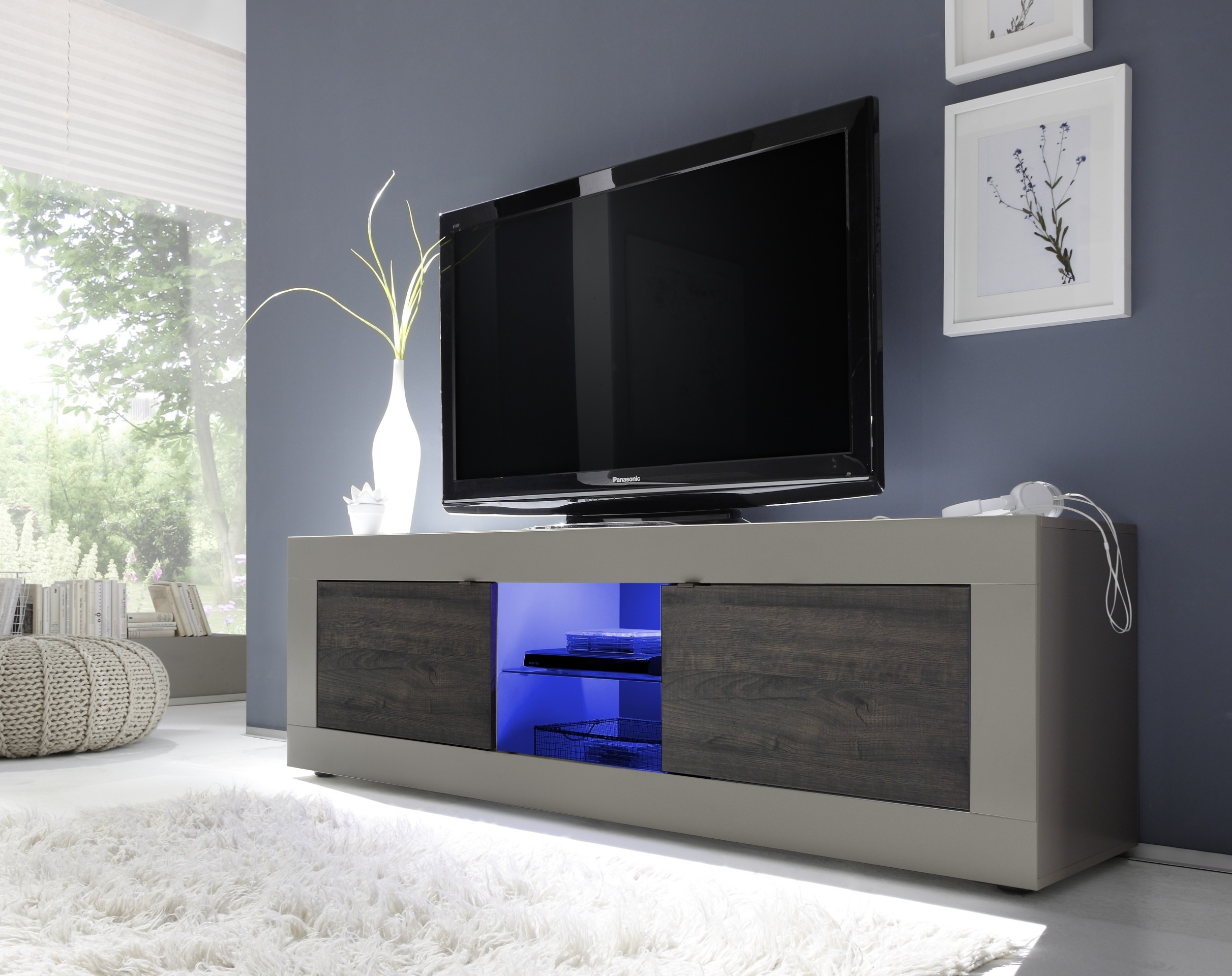 Dolcevita Ii Modern Tv Stand In Matt Finish Tv Stands Sena Within Bespoke Tv Stands (View 5 of 15)