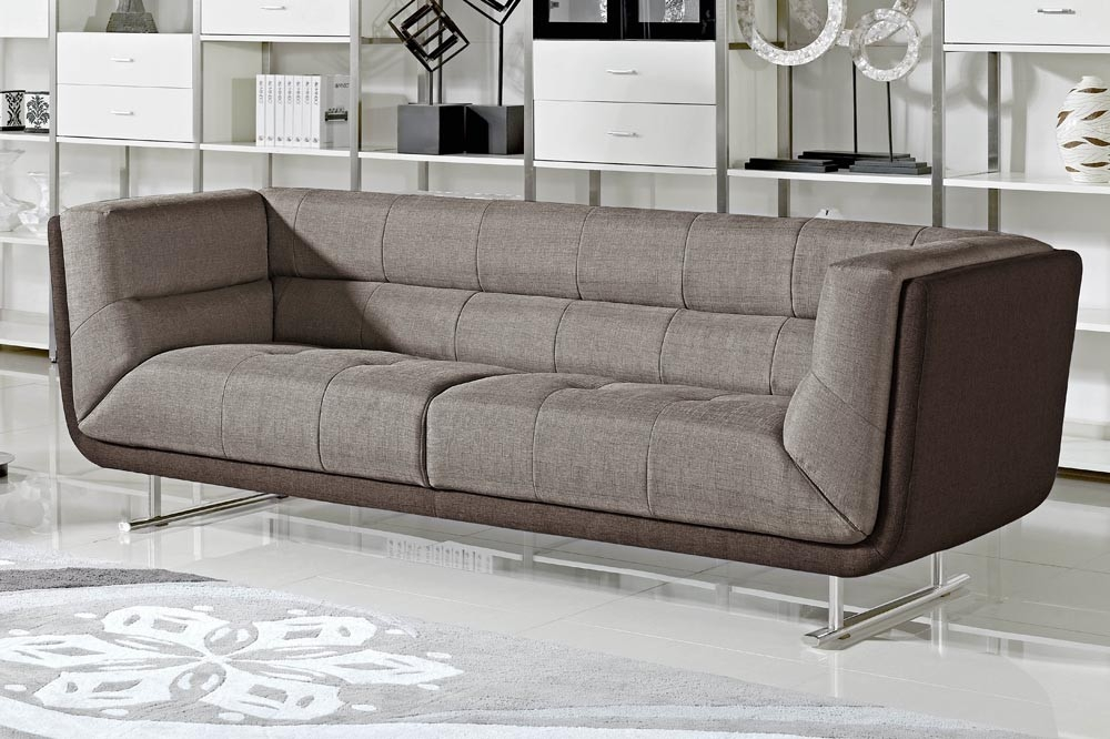 Dominic Modern Two Tone Sofa Inside Two Tone Sofas (View 11 of 15)