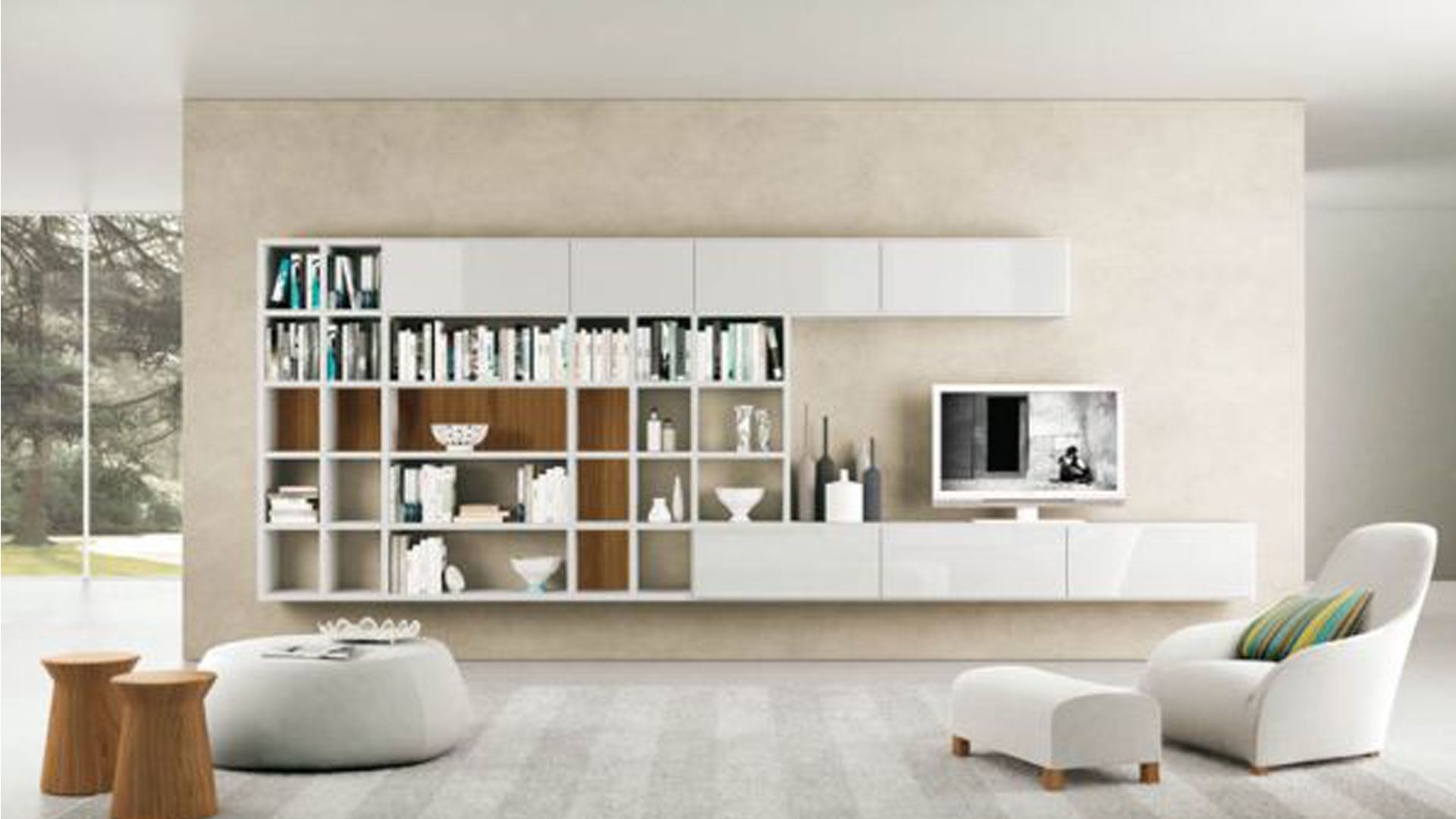 Download Astounding Ideas Living Room Packages With Tv Teabj Pertaining To Tv Bookshelf (#7 of 15)