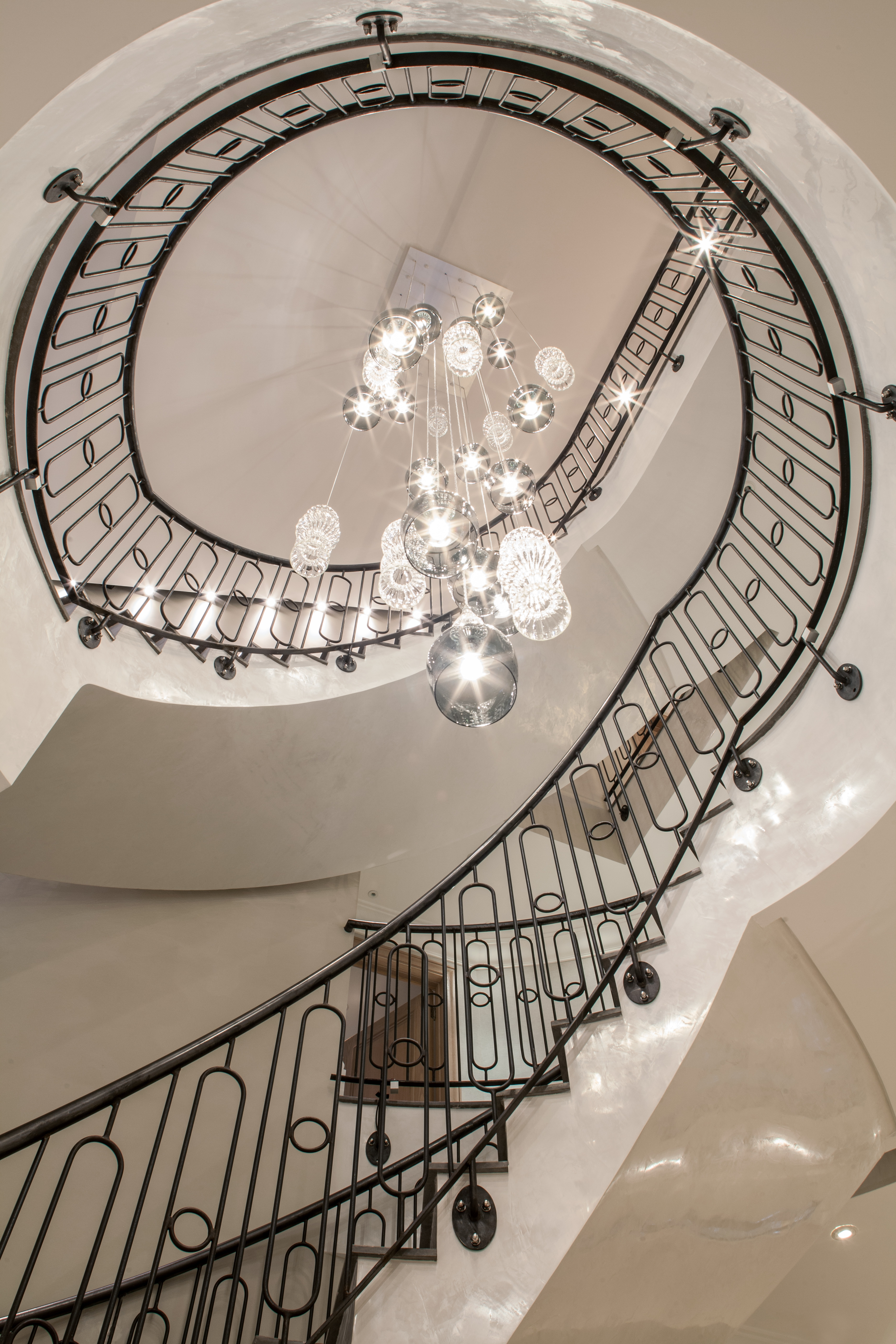 Download Images In Situ Rothschild Bickers For Stairway Chandeliers (#8 of 12)