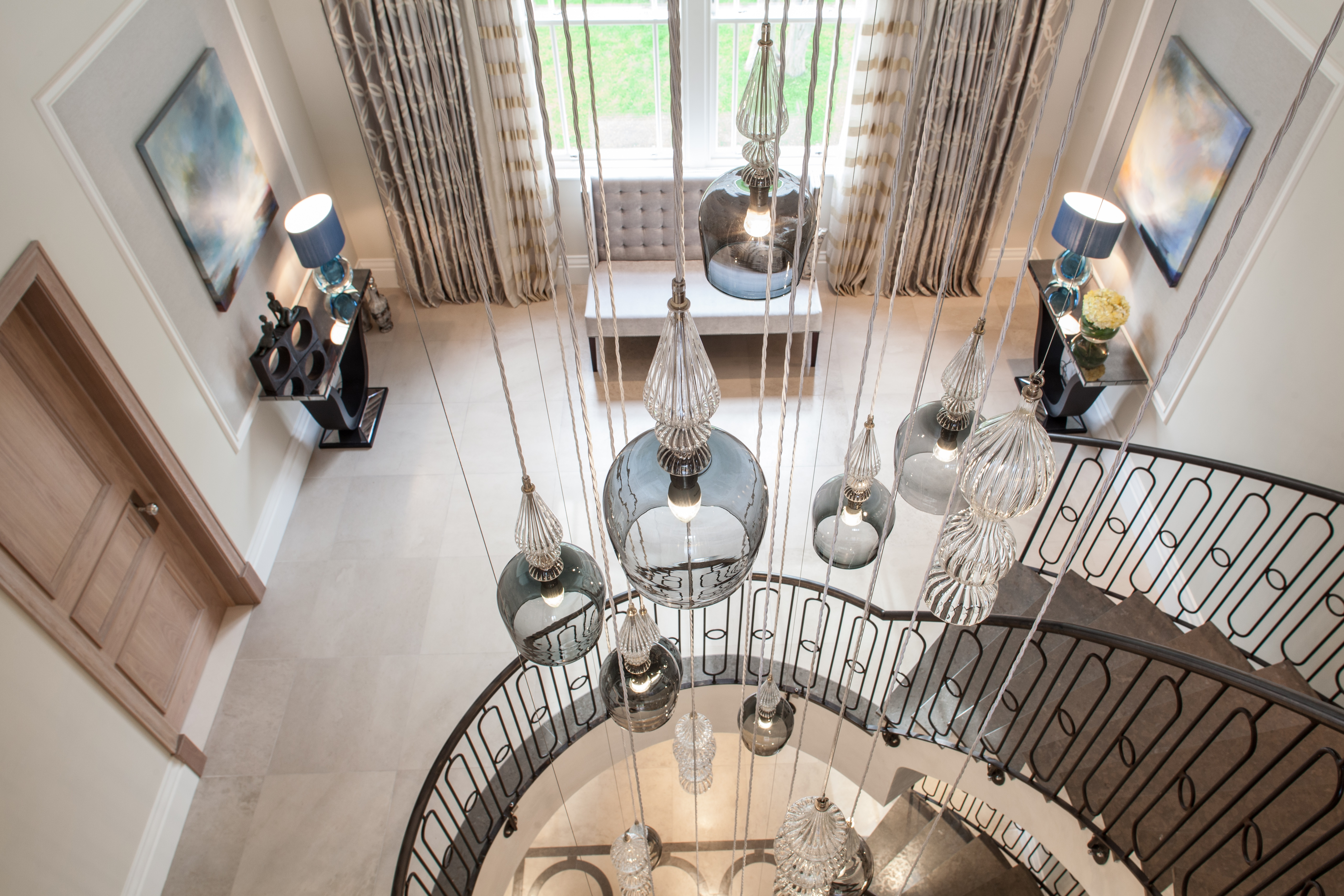 Download Images In Situ Rothschild Bickers For Stairwell Chandeliers (#6 of 12)