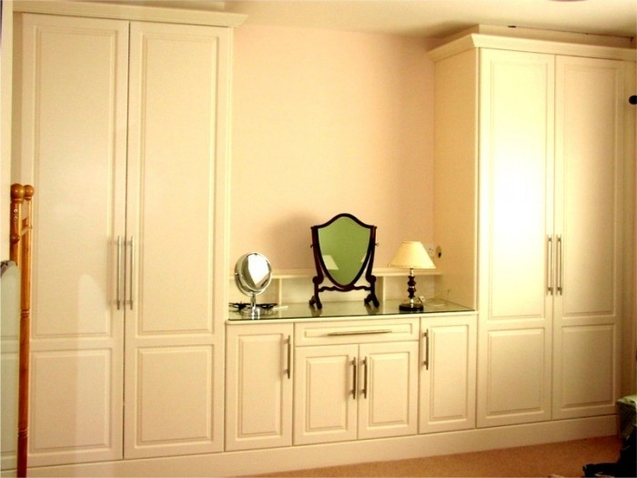 Dressing Cupboard Design With Table Cupboards (#12 of 15)