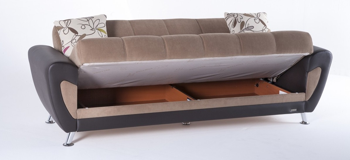 Duru Sofa Bed Set With Sofa Beds With Storages (#4 of 15)