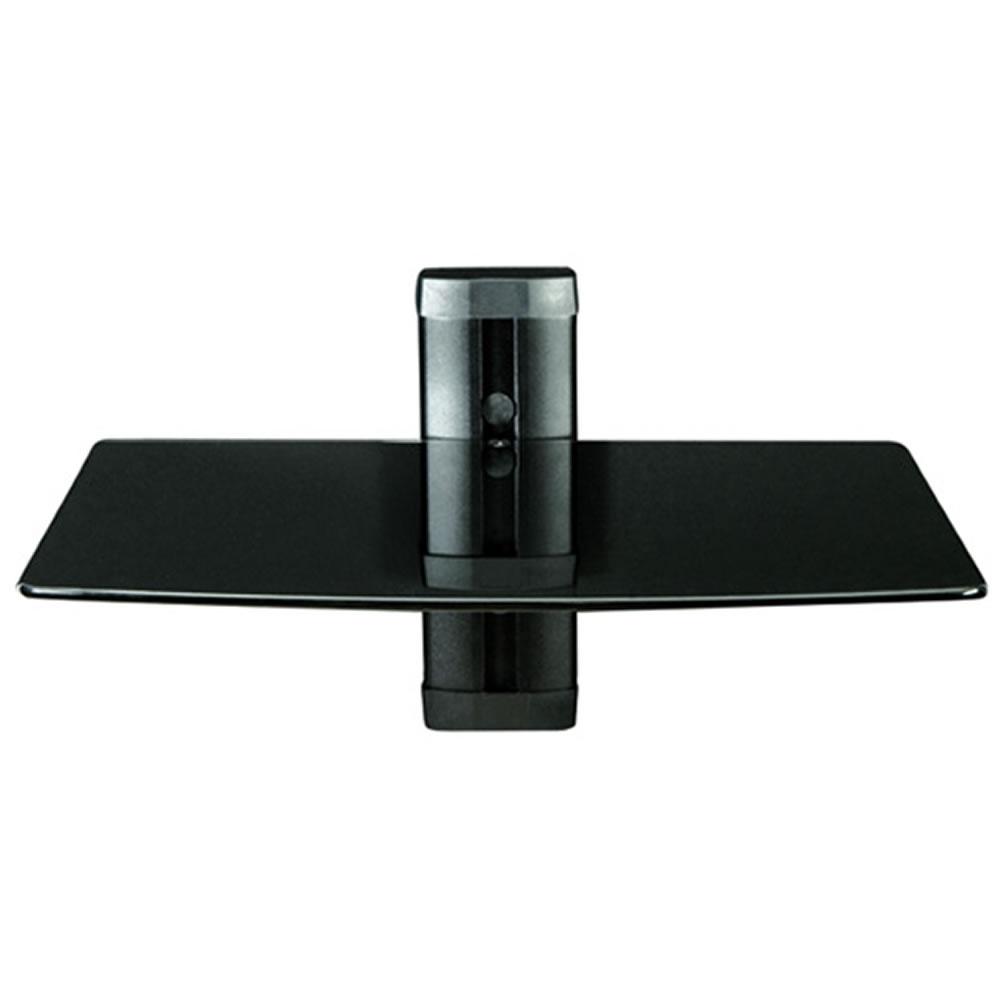 Dvd Wall Mount Cymun Designs Regarding Glass Shelf For Dvd Player (#6 of 12)