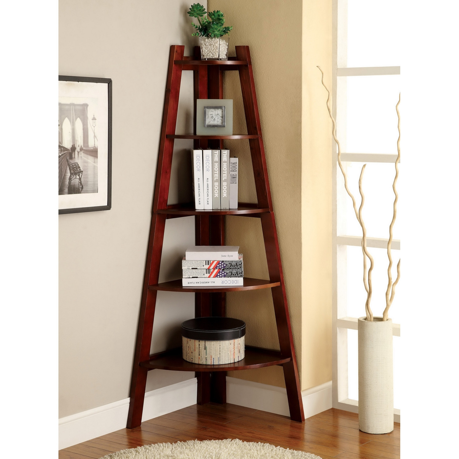 Effectively Corner Bookcase In Fabulous Style Doherty House Inside Corner Bookcase (#11 of 15)