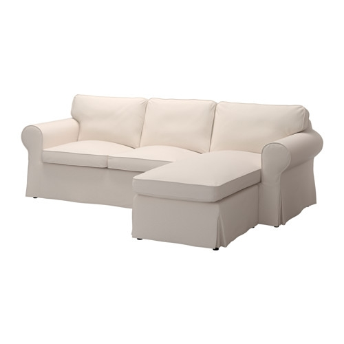 Ektorp Sectional 3 Seat Lofallet Beige Ikea Regarding IKEA Chaise Lounge Sofa (View 6 of 15)