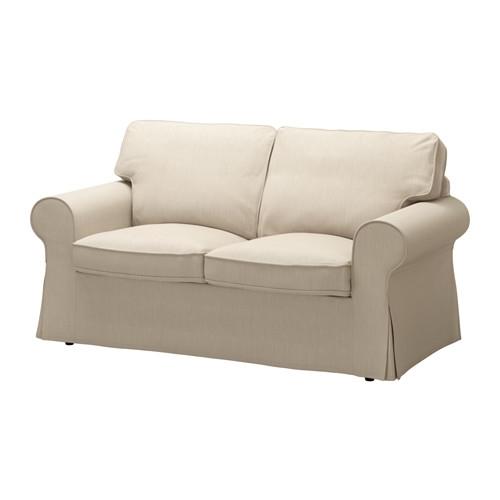 Ektorp Two Seat Sofa Nordvalla Dark Beige Ikea Intended For IKEA Two Seater Sofas (#5 of 15)