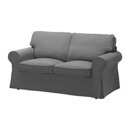 Ektorp Two Seat Sofa Nordvalla Dark Grey Ikea For IKEA Two Seater Sofas (#6 of 15)
