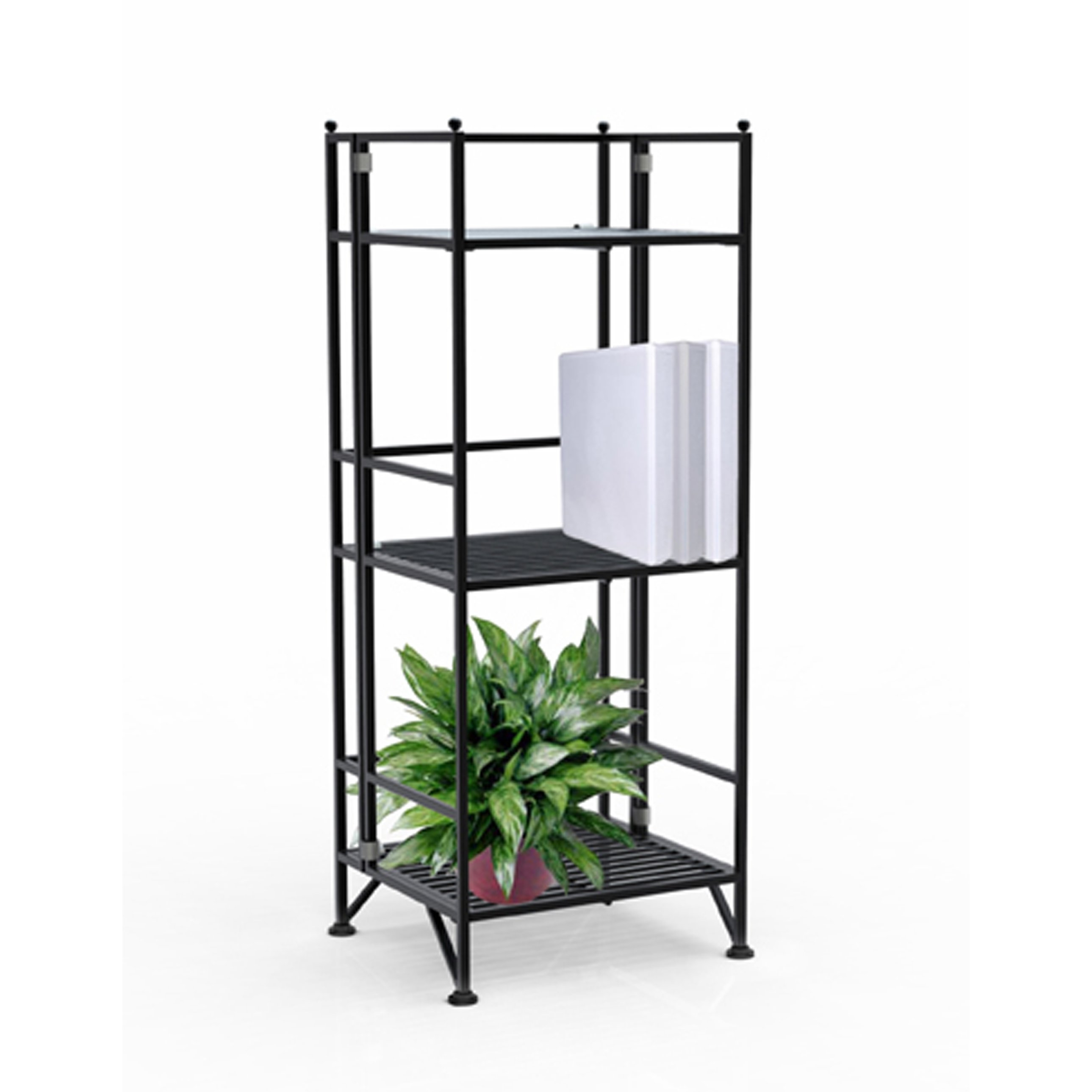 Elegant 3 Tier Folding Bookcase 79 For Your Very Tall Bookcase Intended For Very Tall Bookcase (#3 of 15)