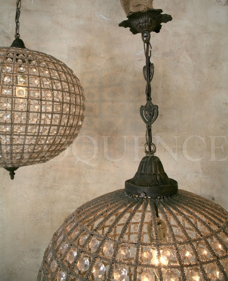 Eloquence Chandelier Globe Large Intended For Large Globe Chandelier (#4 of 12)