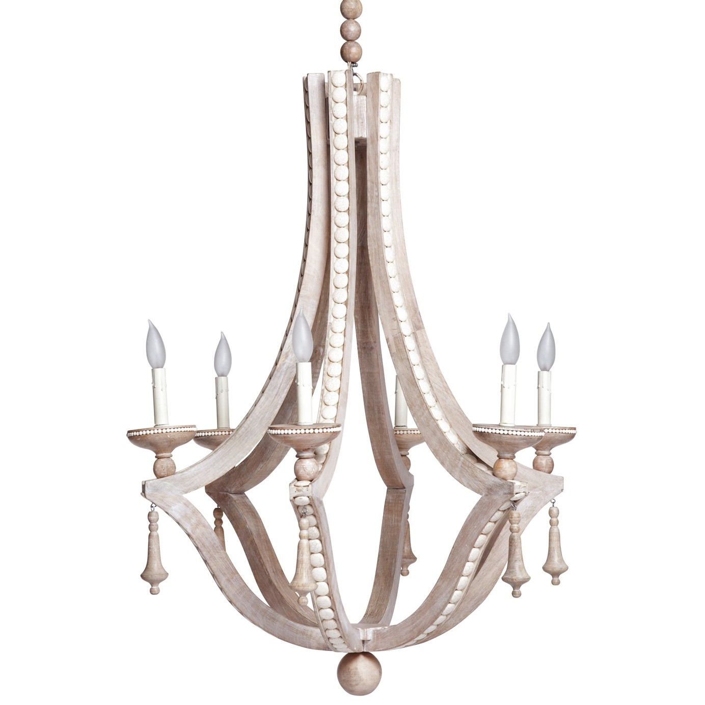 Popular Photo of Cream Chandelier