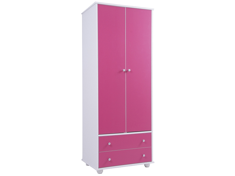 Enchanting Childrens Pink Wardrobe Elegant Home Interior Design In Childrens Pink Wardrobes (#6 of 15)