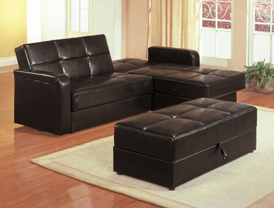 Enchanting Leather Sofa Bed With Storage Leather Sofa With Bed Regarding Leather Sofa Beds With Storage (#3 of 15)
