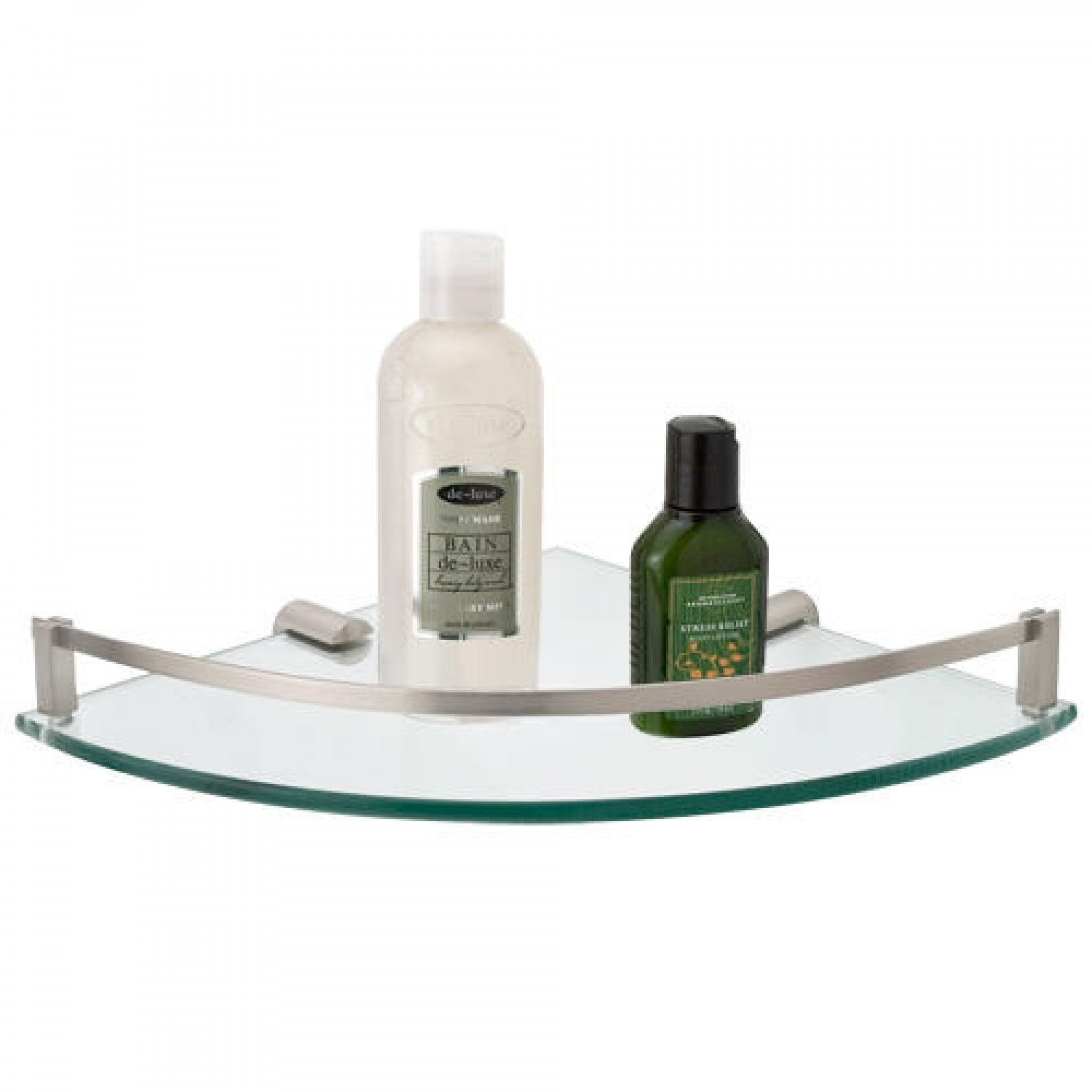 Engel Tempered Glass Corner Shelf Bathroom Inside Glass Corner Shelves (#5 of 12)