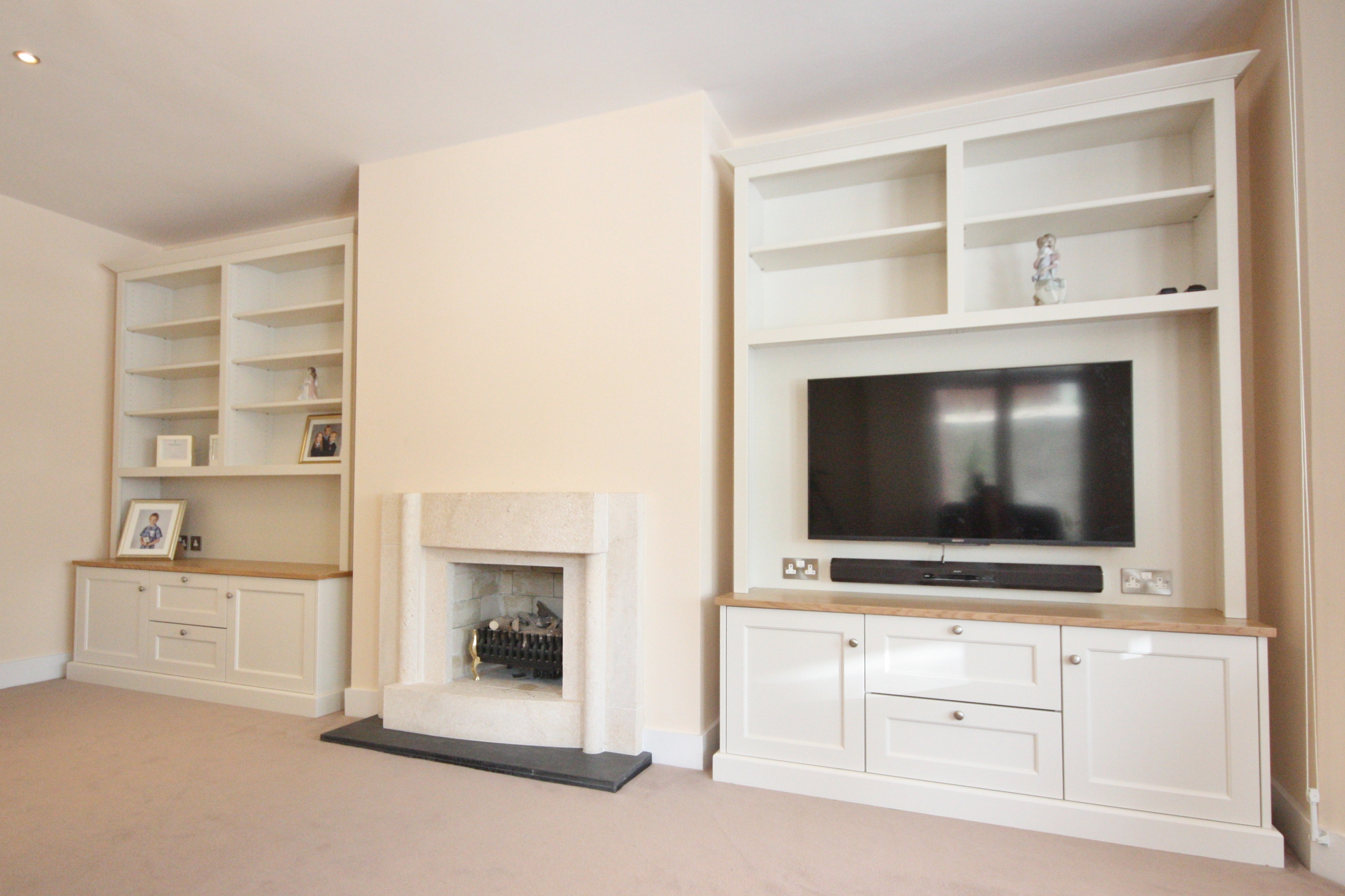 Enigma Design Alcove Tv Unit Intended For Bespoke Tv Units (View 8 of 15)