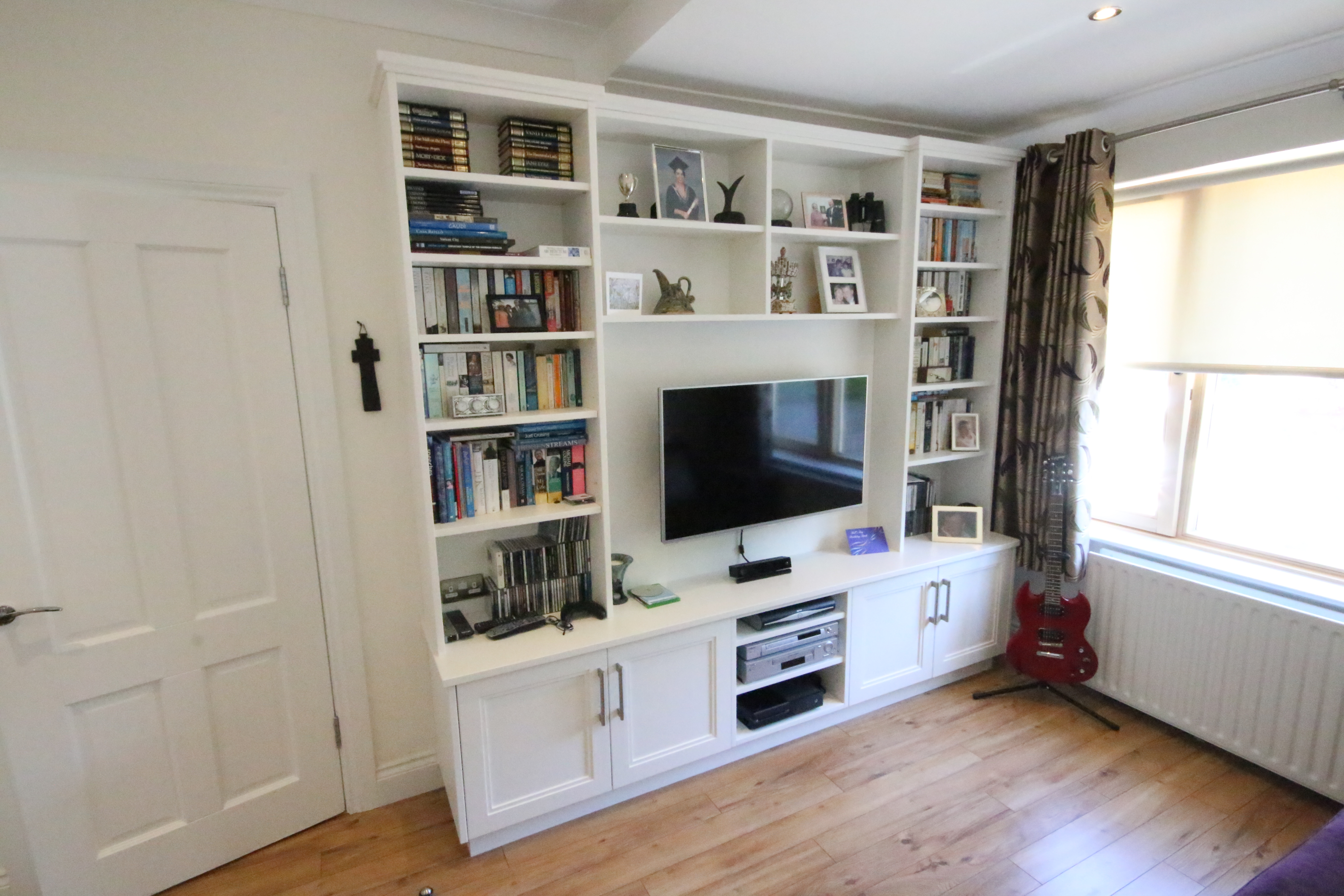 Enigma Design Tv Unit In Stepped Shaker Style Throughout Bespoke Tv Unit (View 11 of 15)