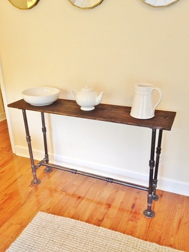 Entry Table Foyer Table Console Table Narrow Sofa Table Intended For Narrow Sofa Tables (#7 of 15)