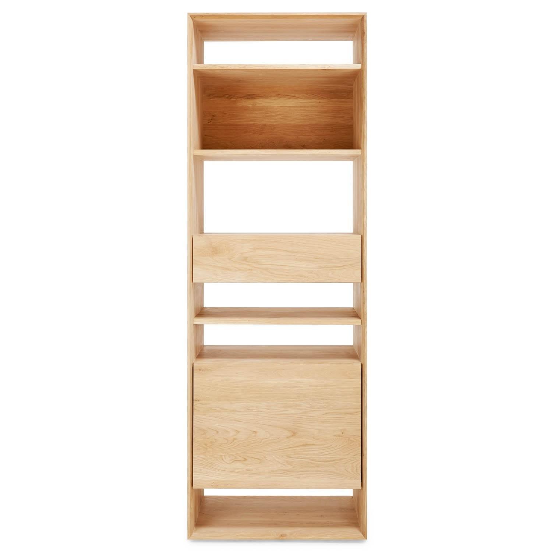 Ethnicraft Oak Bookcase In Oak Bookshelves (#5 of 15)