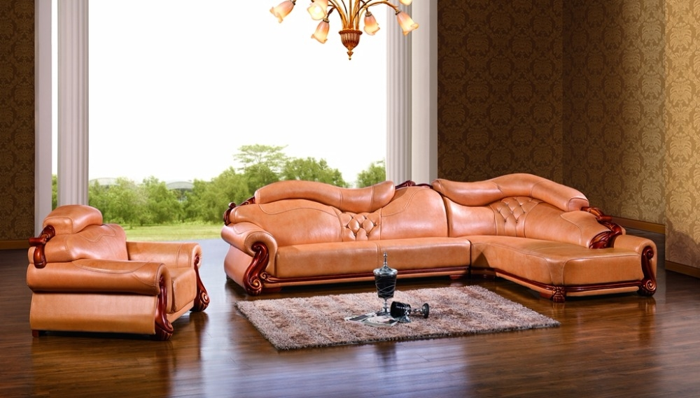 European Leather Sofas Promotion Shop For Promotional European With Regard To European Leather Sofas (#7 of 15)