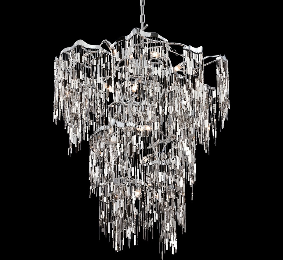 Extra Large Contemporary Modern Chandeliers 43 Above For Large Contemporary Chandeliers (#7 of 12)