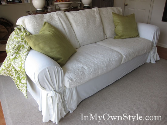 Extra Large Couch Slipcovers Intended For Large Sofa Slipcovers (#4 of 15)