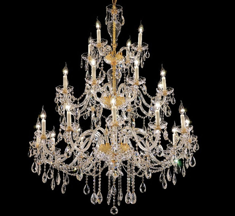 Popular Photo of Extra Large Crystal Chandeliers