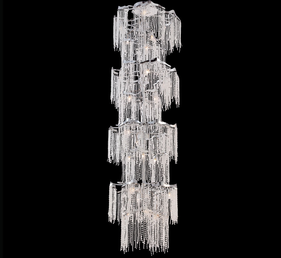 Extra Large Crystal Chandeliers 43 Above Grand Light With Regard To Extra Large Crystal Chandeliers (#4 of 12)