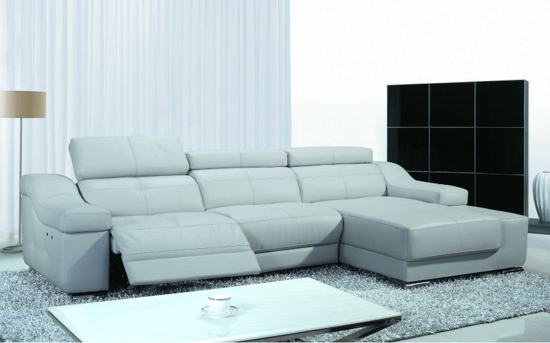 Fancy Genuine Leather Reclining Sofa Leather Recliner Sofahome With Modern Reclining Leather Sofas (#5 of 15)