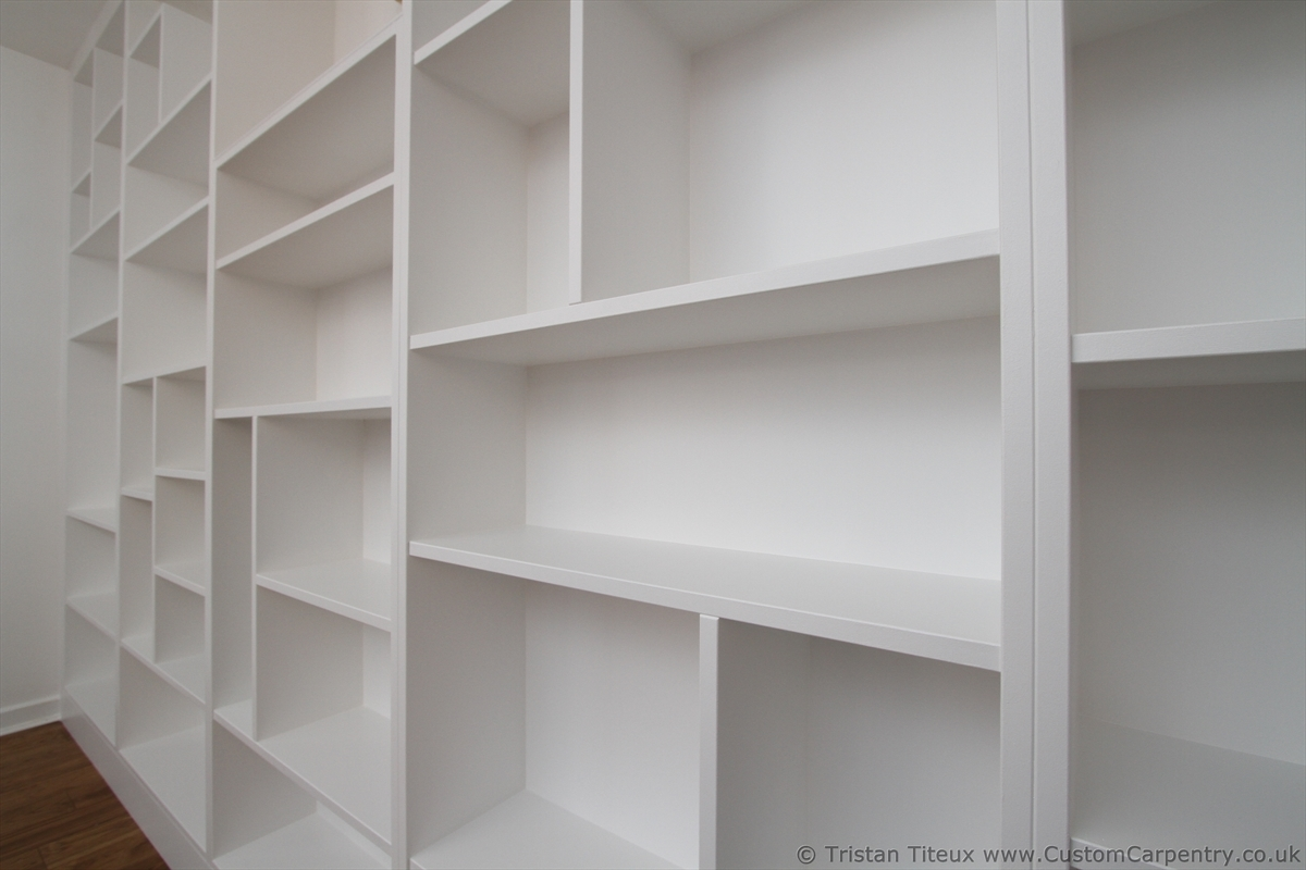 Feature Seams Or Seamless Fitted Furniture Empatika Intended For Bespoke Shelving Units (View 11 of 15)