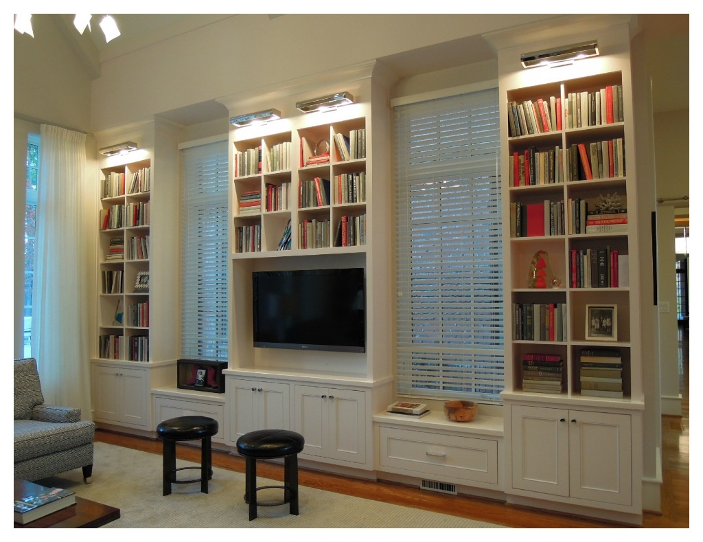 Finding The Best Wall Bookcases In Living Room Bookshelvesdesign In Classic Bookshelves (#11 of 15)