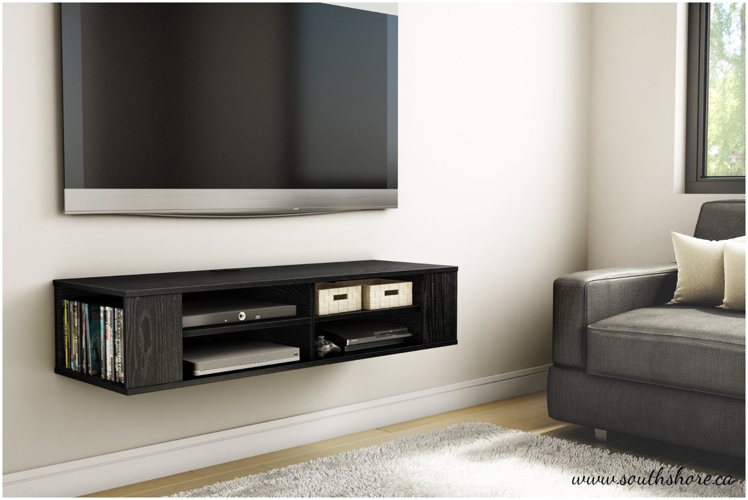 Finest Shelves Under Tv Wall Mount Best Ideas About Wall Mount With Flat Screen Shelving (#3 of 15)