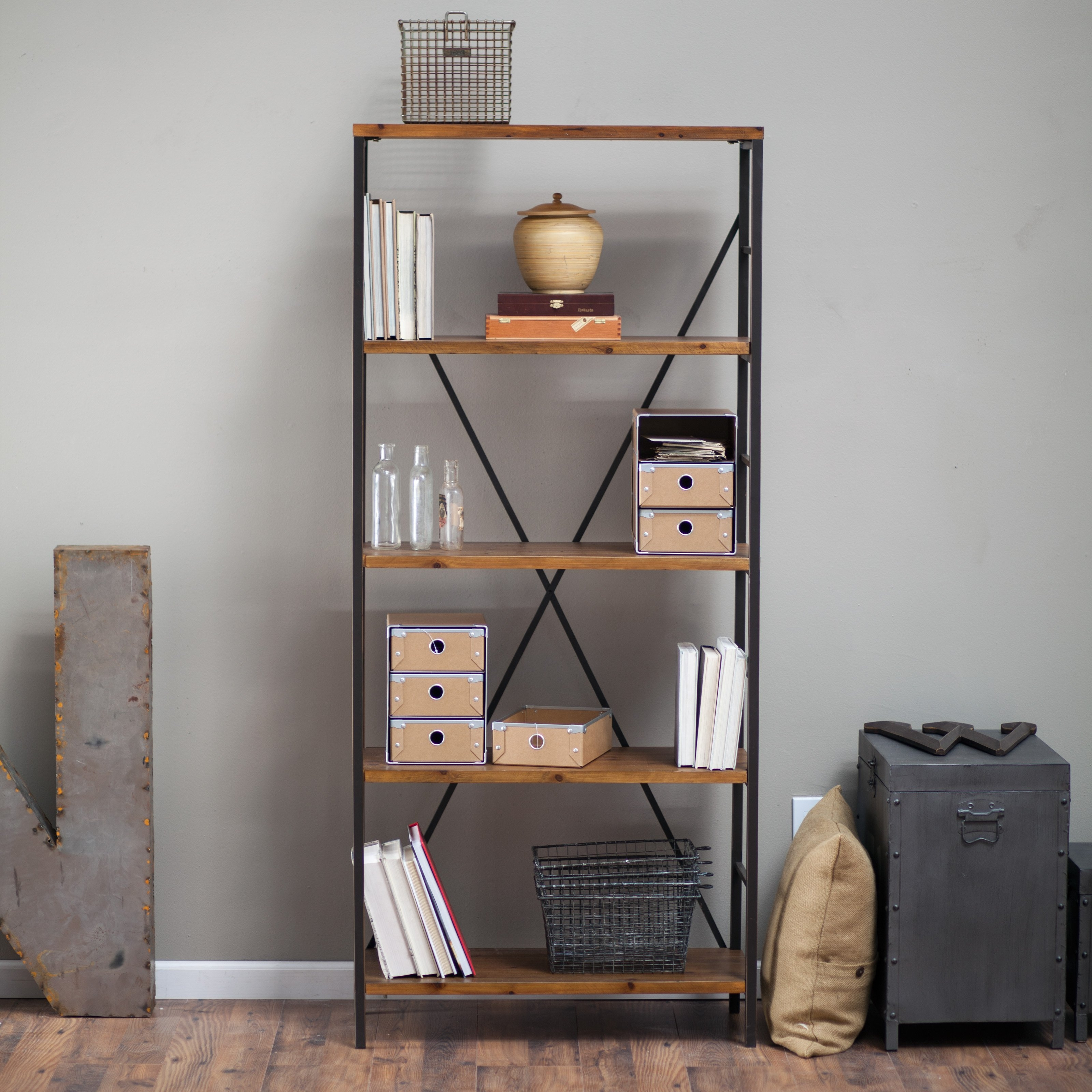 Popular Photo of Very Tall Bookcase