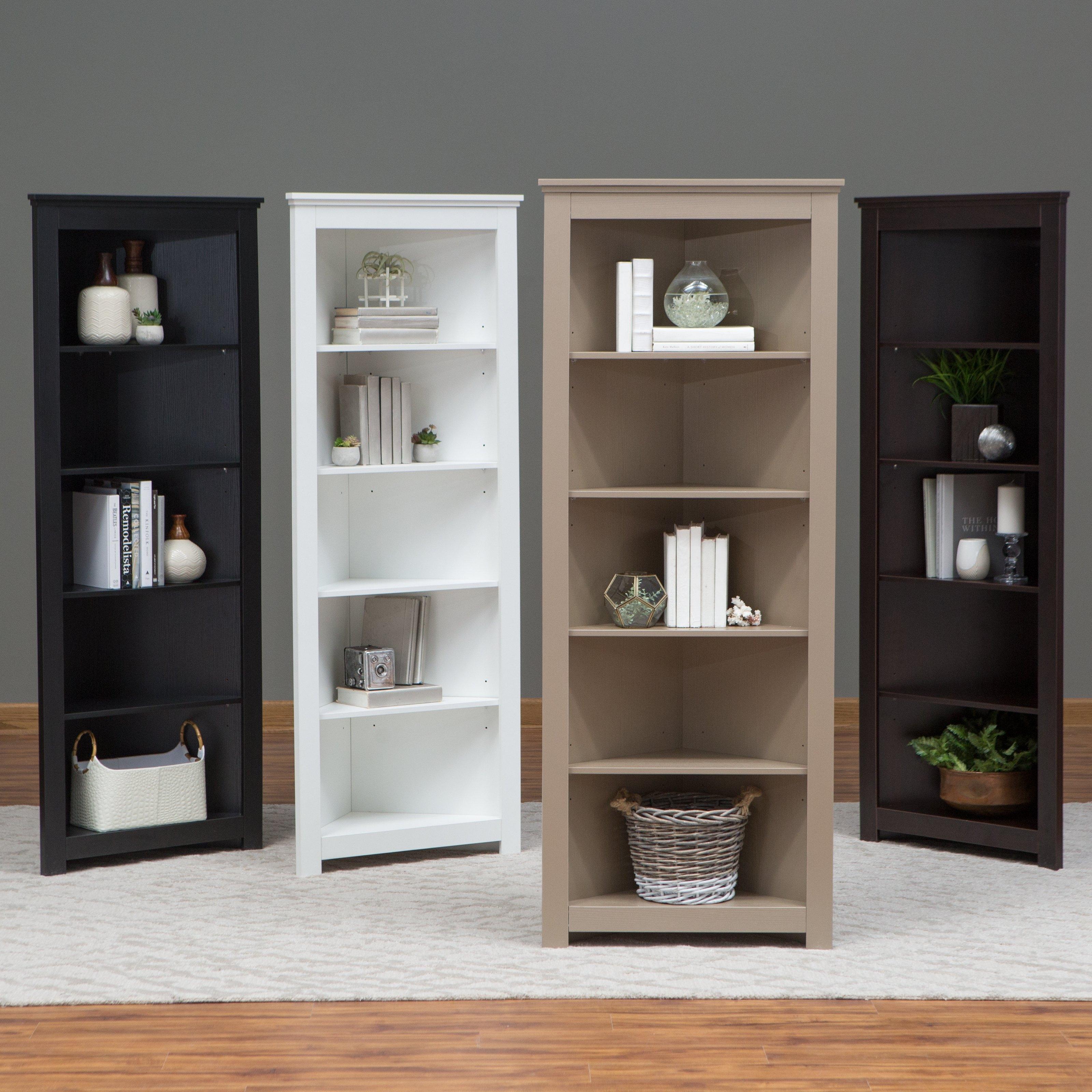 Popular Photo of Corner Bookcase