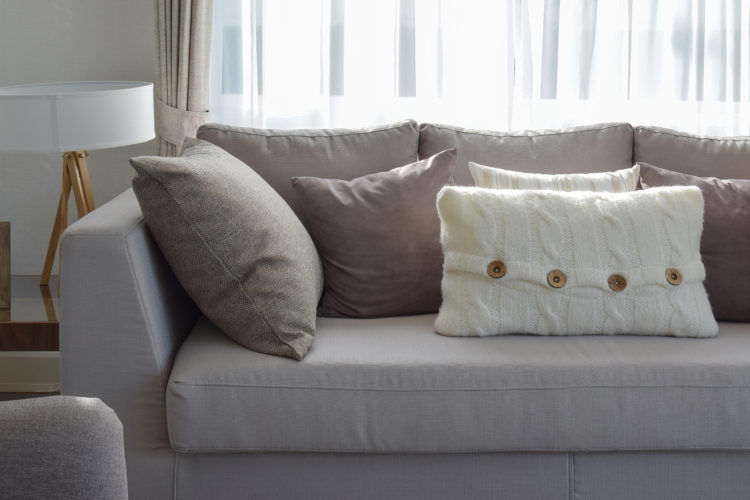 Firm Up Frumpy Sofa Cushions With This Trick Simplemost Intended For Sofa Cushions (#6 of 15)