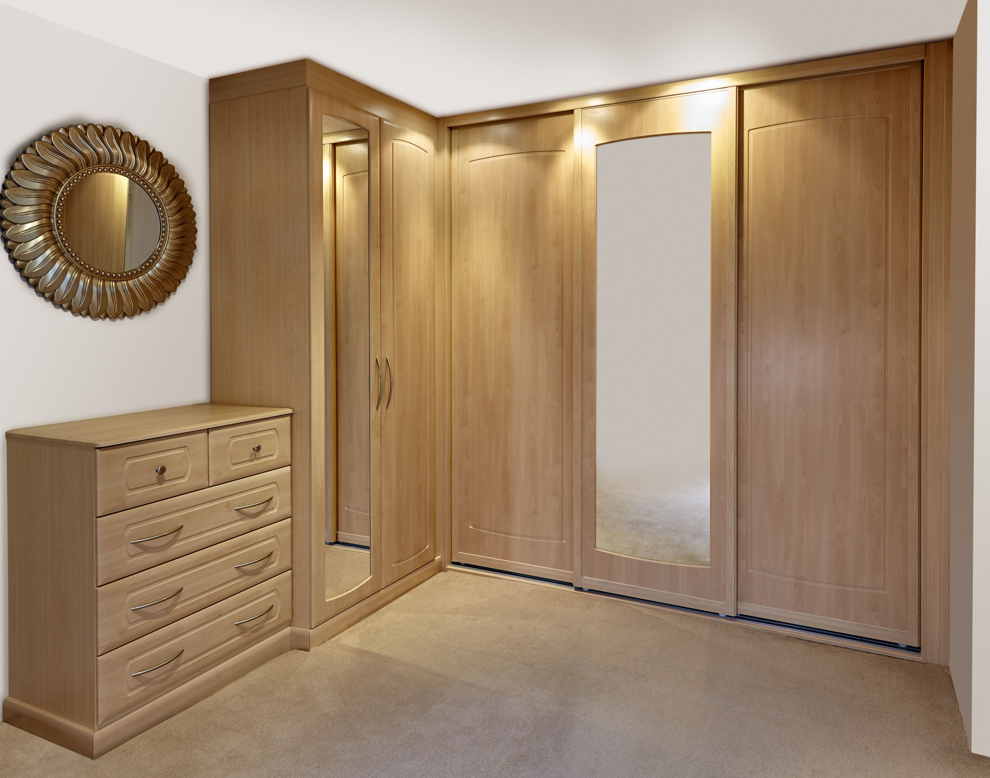 Fitted Bedrooms 4 Modern Style Wardrobe Designs For Bedroom A Inside Fitted Wooden Wardrobes (View 9 of 15)