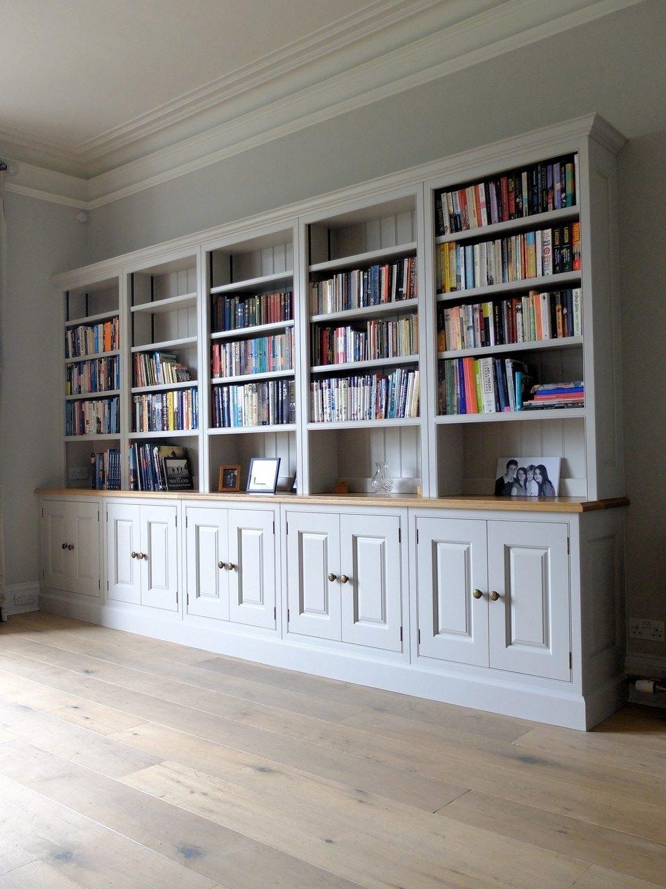 Fitted Bookshelves Lothian003 Studio Carpentry Inside Fitted Bookshelves (View 9 of 15)