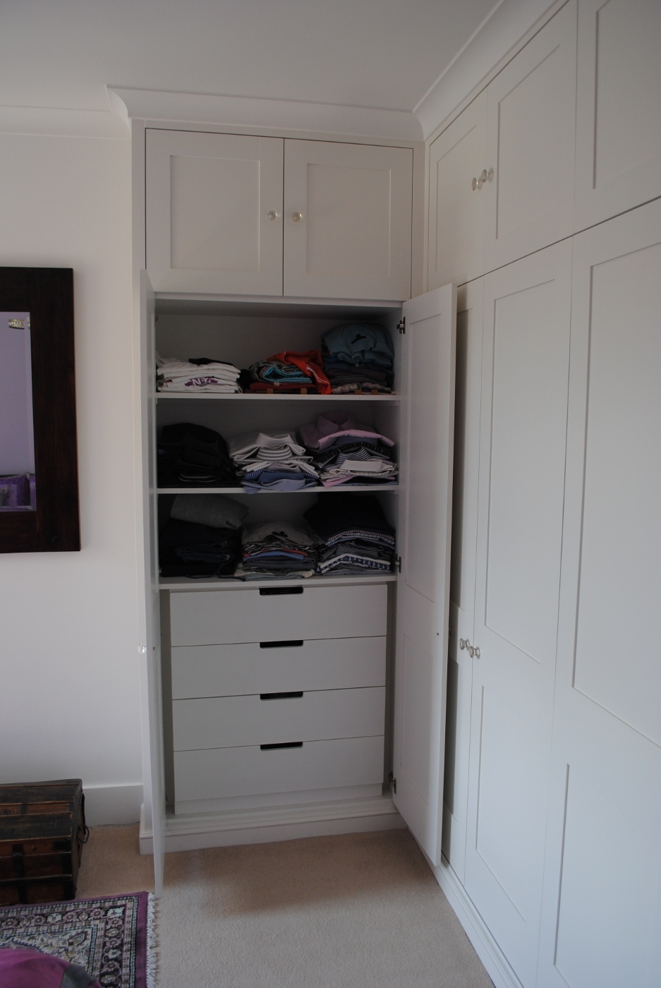Fitted Furniture Pertaining To Drawers For Fitted Wardrobes (View 7 of 15)