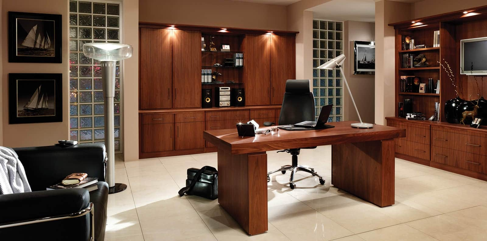 Fitted Home Office Furniture That Makes Work A Pleasure Regarding Fitted Office Furniture (#9 of 15)
