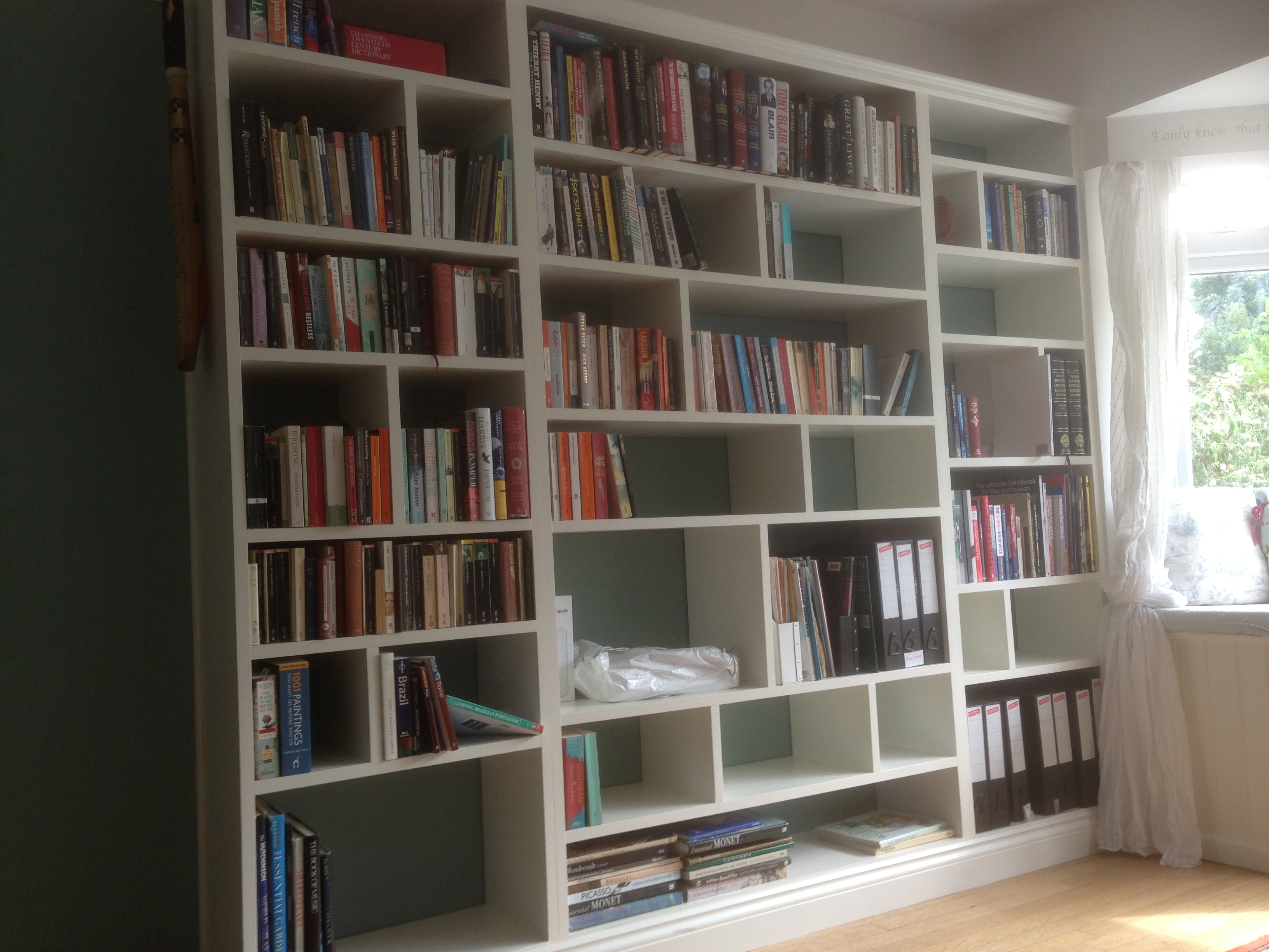 Fitted Shelving Cupboards And Flooring P D Carpentry Building Pertaining To Fitted Shelving (#10 of 15)