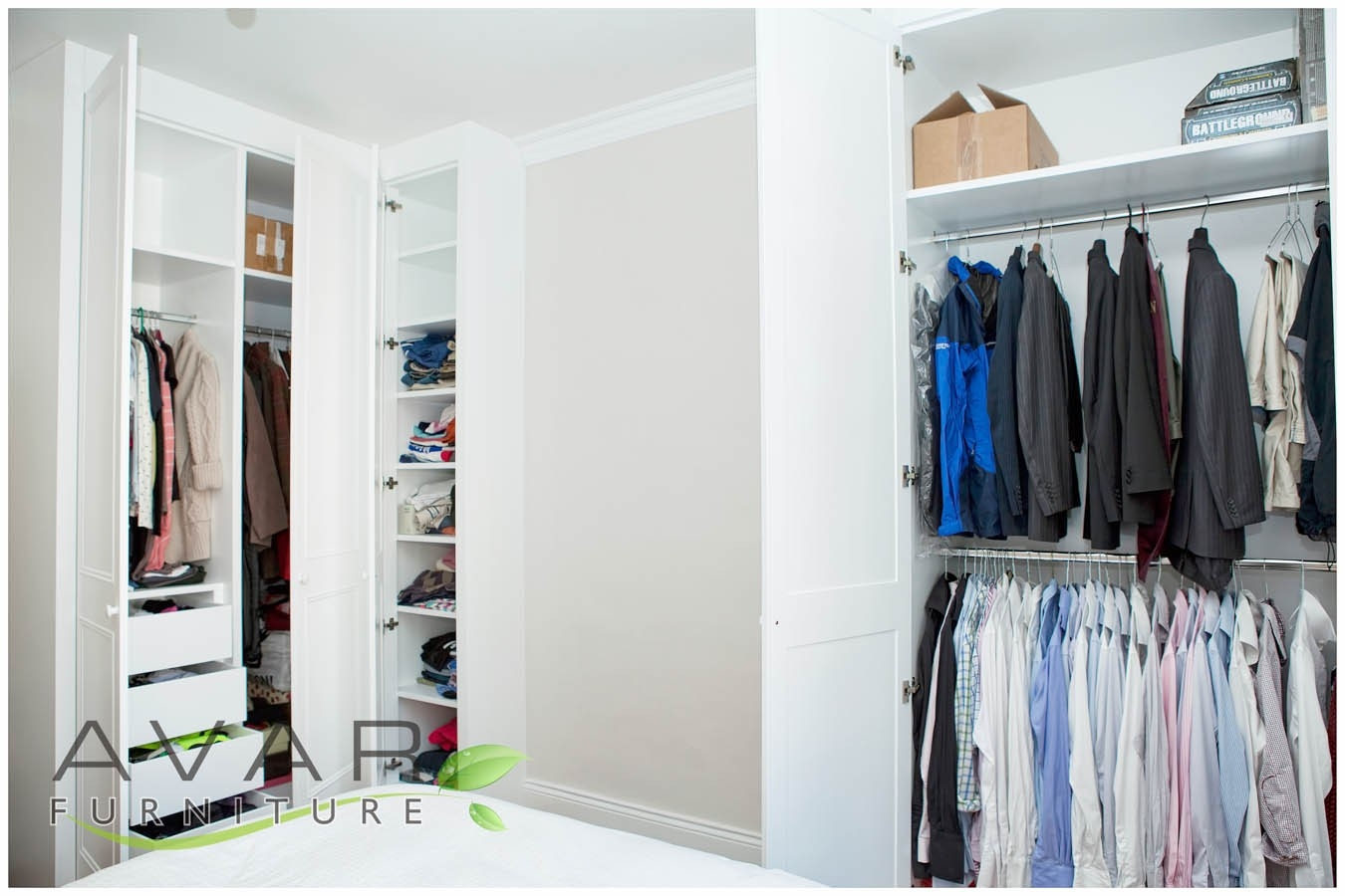 Fitted Wardrobe Ideas Gallery 15 North London Uk Avar With Regard To Alcove Wardrobes Designs (View 11 of 15)