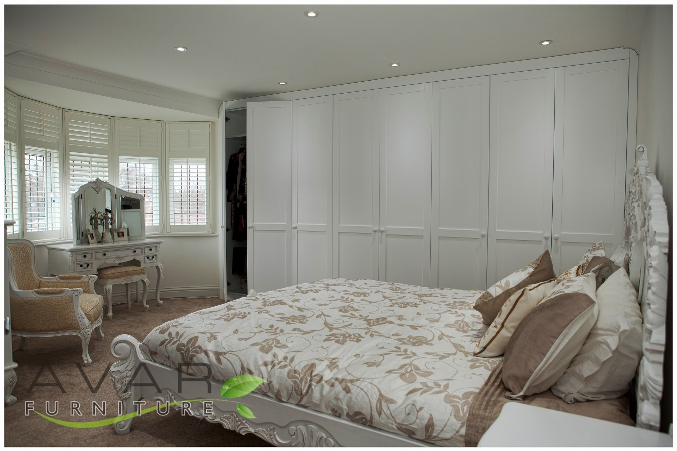 Fitted Wardrobe Ideas Gallery 7 North London Uk Avar For Wall Wardrobes (View 6 of 15)
