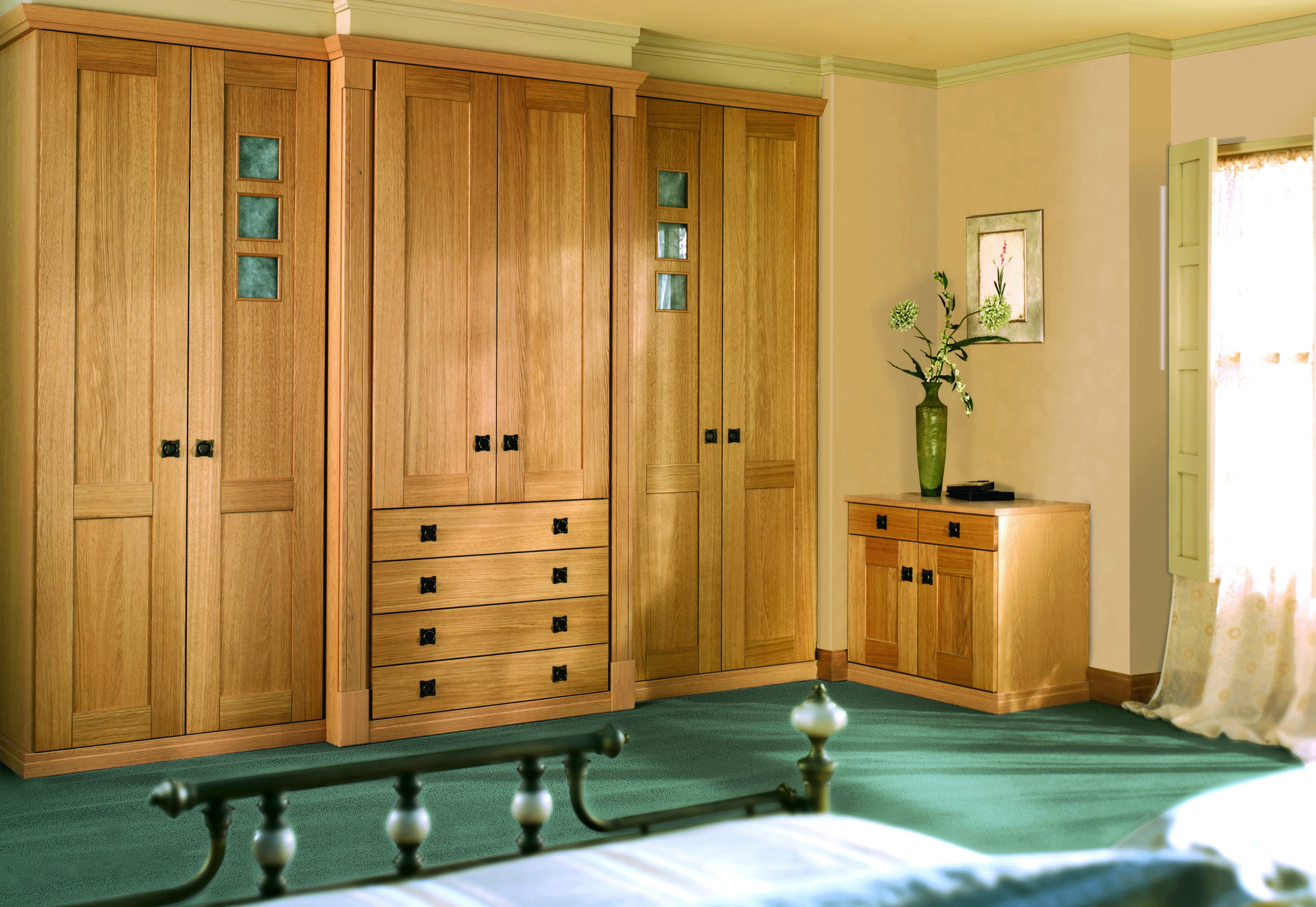 Fitted Wardrobe World Bringing Choice To Fitted Bedroom Pertaining To Solid Wood Built In Wardrobes (View 9 of 15)