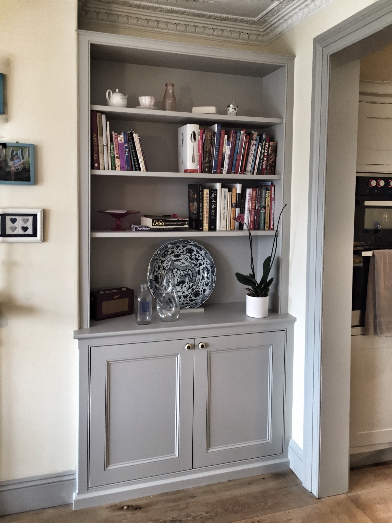 Fitted Wardrobes And Bookcases In London Shelving And Cupboards Pertaining To Fitted Cabinets (View 10 of 15)