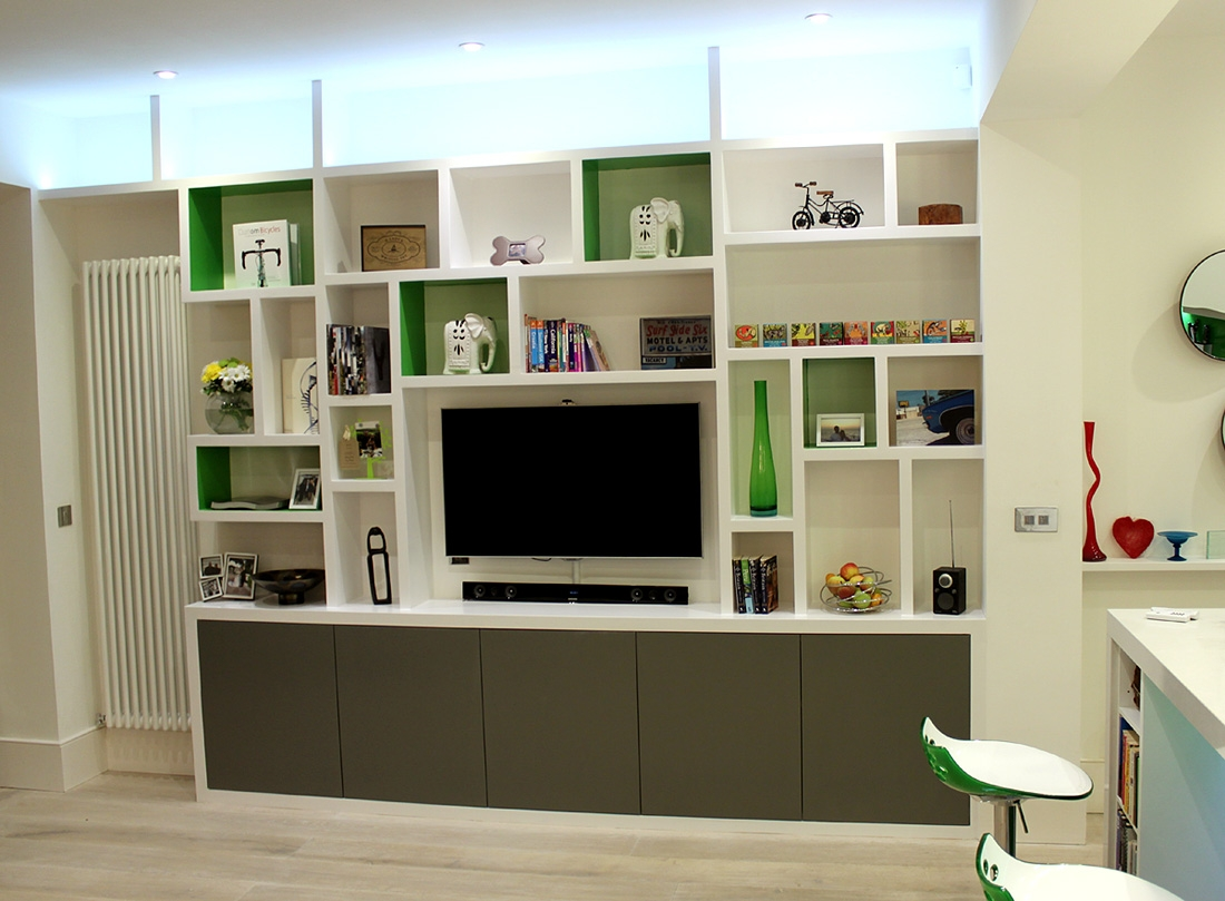 Fitted Wardrobes Bookcases Shelving Floating Shelves London With Regard To Custom Made Shelving Units (#9 of 15)