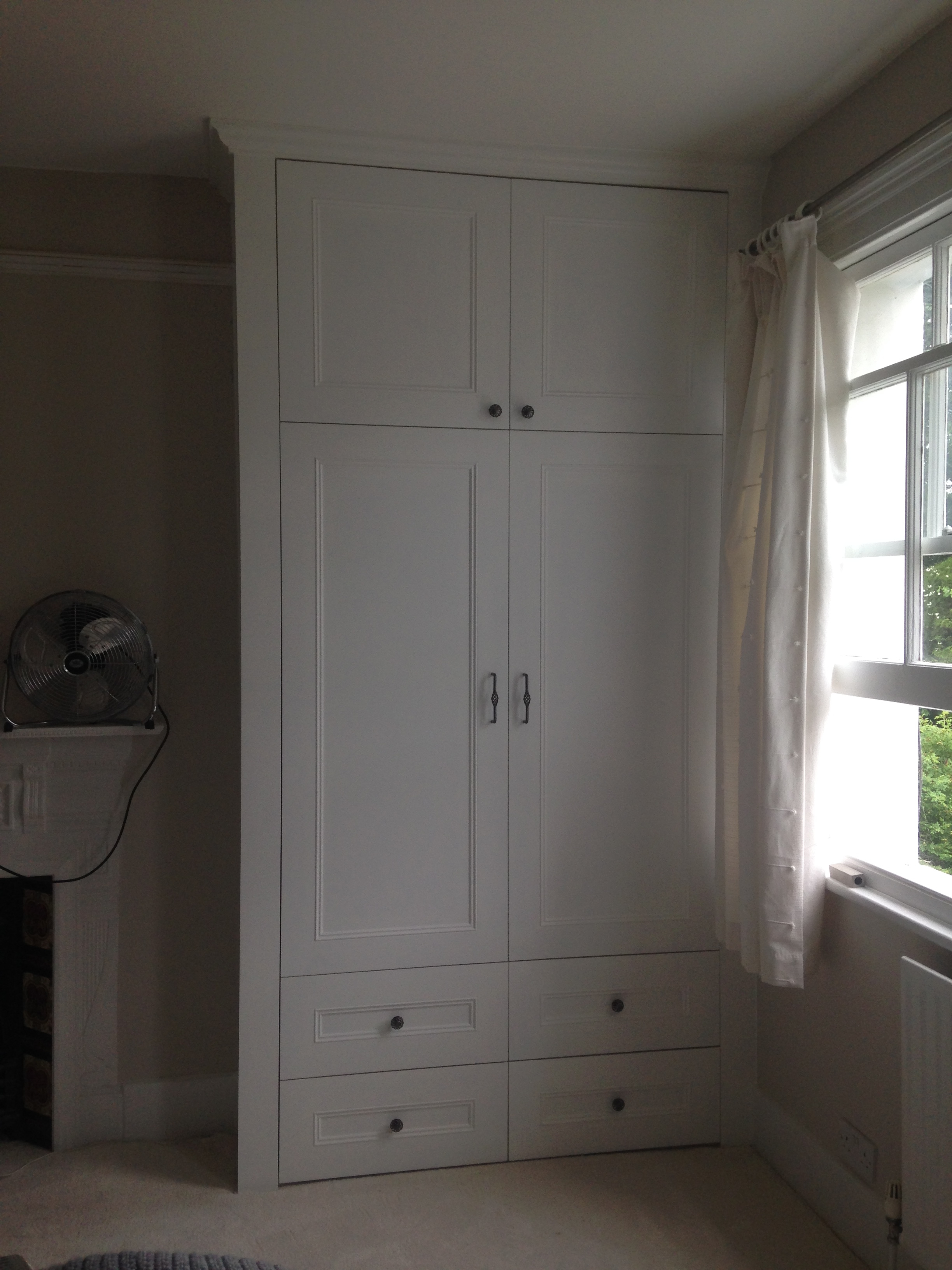 Fitted Wardrobes Brian White Carpentry Inside Drawers For Fitted Wardrobes (#12 of 15)