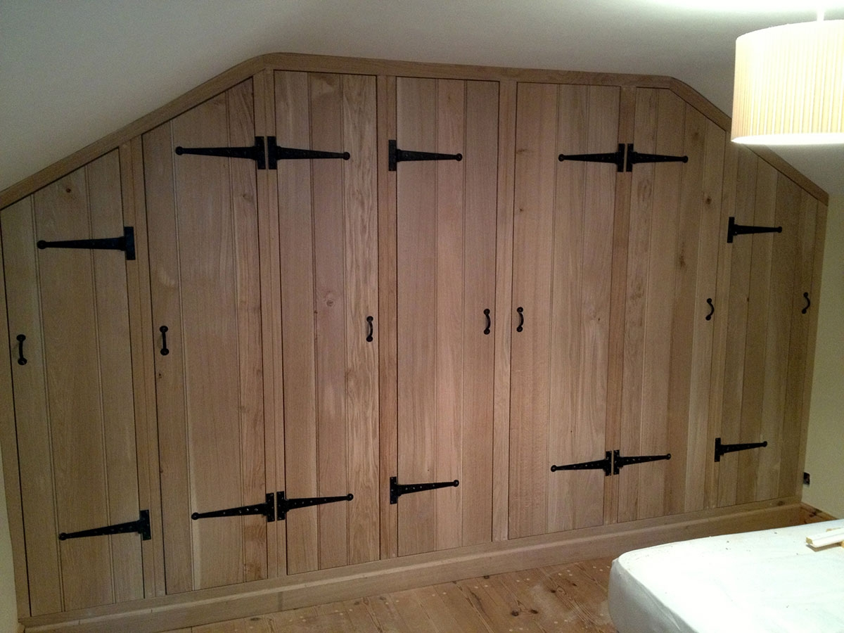 Fitted Wardrobes Norwich The Norfolk Carpenter With Regard To Fitted Wooden Wardrobes (#10 of 15)