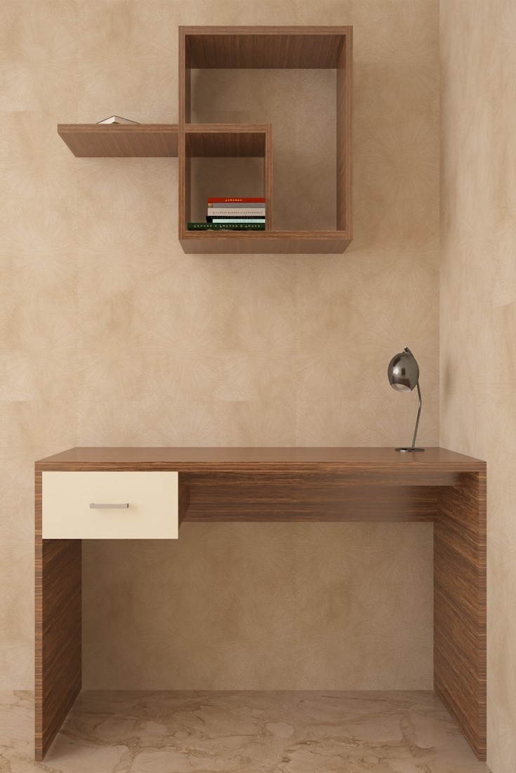 Flamingo Compact Study Unit The Asymmetrical Wall Unit Of This Intended For Study Wall Unit Designs (#7 of 15)