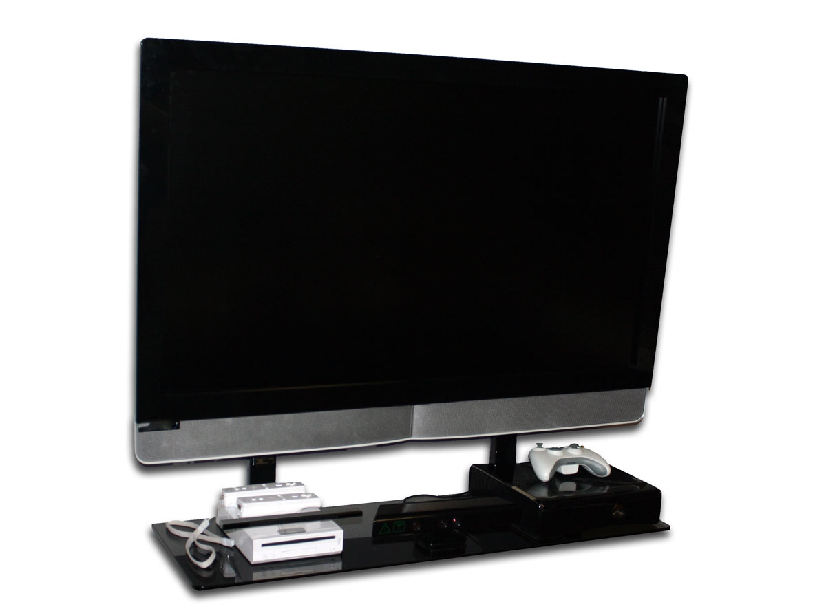 Flat Screen Tv With A Mount And Shelf Blog With Flat Screen Shelving (#6 of 15)